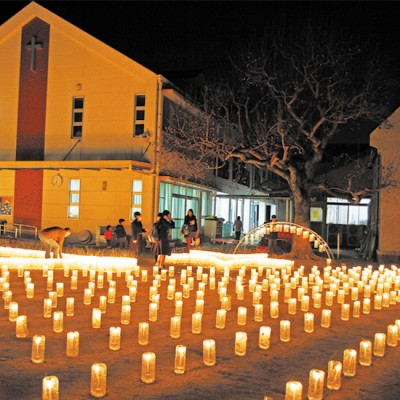 ルーテル小城教会 幸せの灯2014
